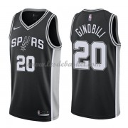 Maillot Basket Enfant San Antonio Spurs 2018 Manu Ginobili 20# Icon Edition..